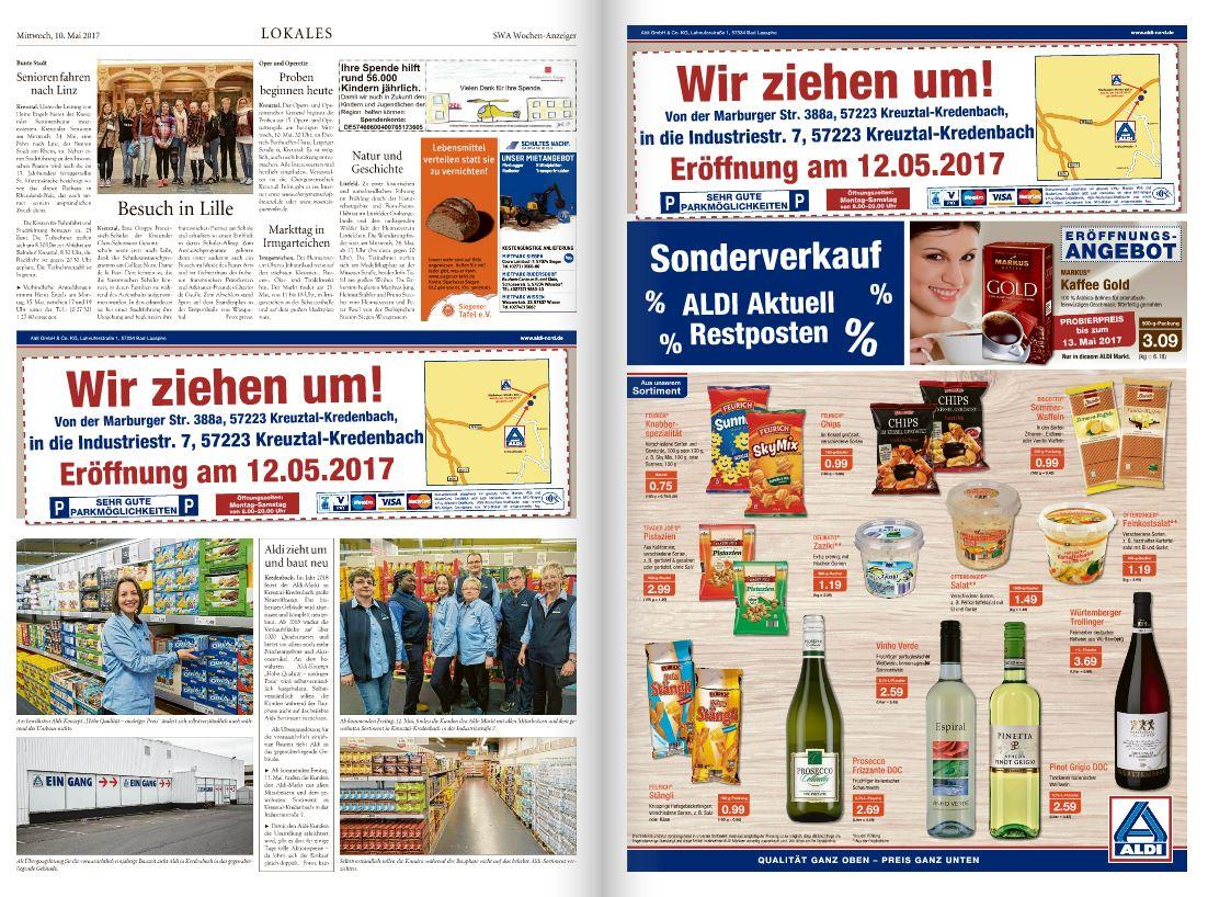 [ Siegen Kreuztal ] Aldi Neueröffnung Sonderverkauf Restposten 12.05