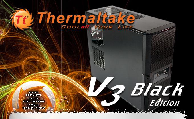 Thermaltake V3 Black Edition Window-Kit Tower Gehäuse (Alternate)