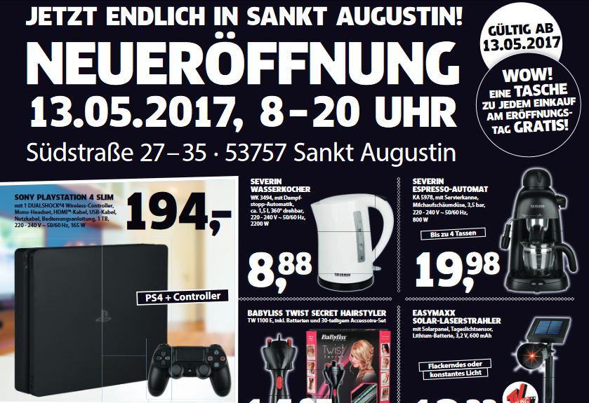 [Lokal - Black.de Neueröfnung Sankt Augustin] Am 13.5 gibt es die PS4 Slim 1TB für 194€ (mein 100.Deal)