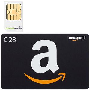 2 FreenetMobile Sim-Karten mit 28€ Amazon-Gutschein