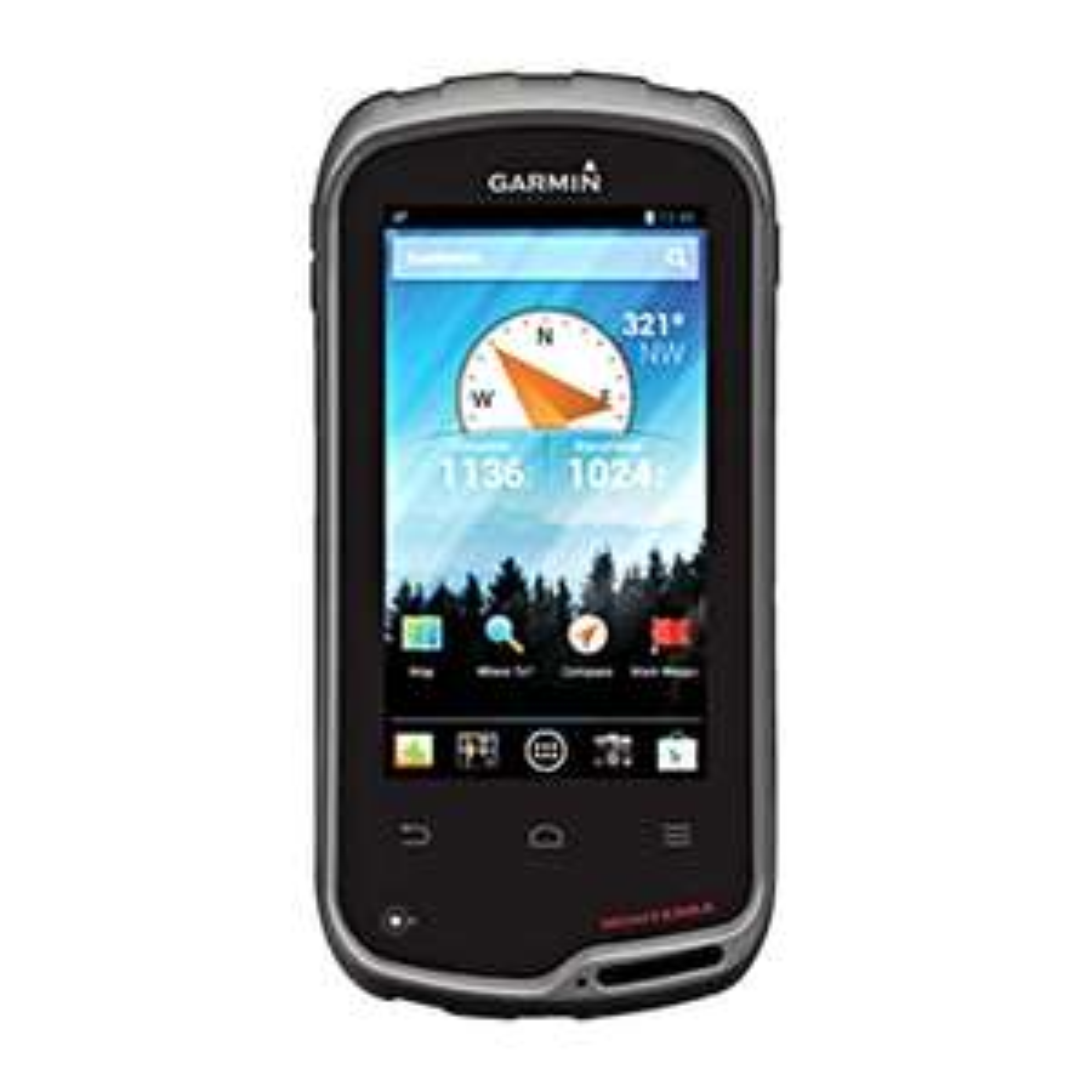 [Globetrotter] GPS Gerät Garmin Monterra inkl. Freizeitguide Europa (Wander-Navi, 4 Zoll, 8MP Kamera, HD Video, Taschenlampe)