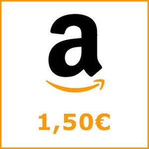 AMAZON Gutschein Code - 1,50€ Gutschein für 1,00 €