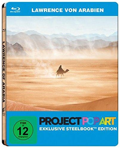 Lawrence von Arabien (Project Popart Steelbook Edition) (Blu-ray) für 7,99€ (Amazon Prime + Saturn)