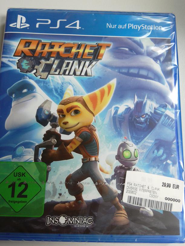 [Lokal] Saturn Nürnberg: Ratchet & Clank (PS4)