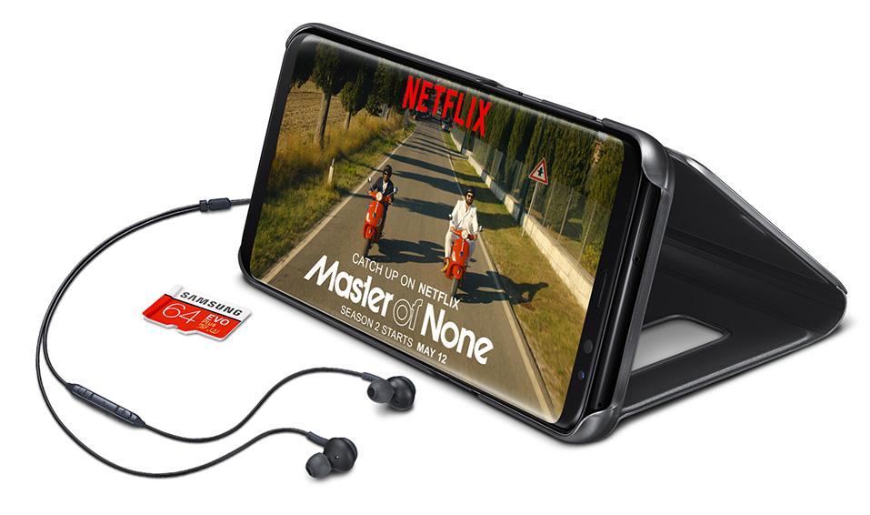 Samsung Galaxy S8/S8+ + MicroSD 64GB + 6 Monate Netflix kostenlos