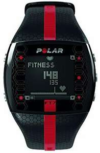 WHD Amazon POLAR Sportuhr FT7M Black Red Aktivitätstracker