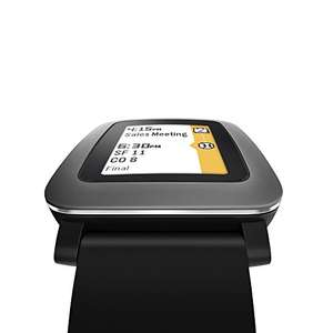Pebble Time Smart Watch schwarz 69,99€