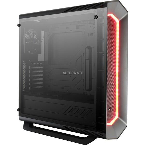 RGB AeroCool Project7 P7-C1 Tempered Glass Edition schwarz mit Sichtfenster (P7-C1BG) Gehäuse Case [Alternate]