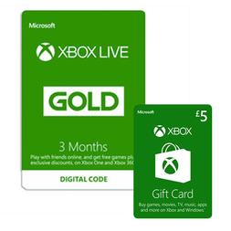 3 Monate Xbox Live + £5 Xbox Live Guthaben für 17,66€ (Game UK)