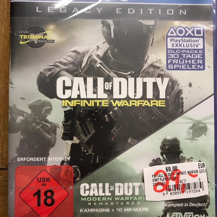 Lokal MM Berlin PS4 Call of Duty Infinite Warfare Legacy Edition