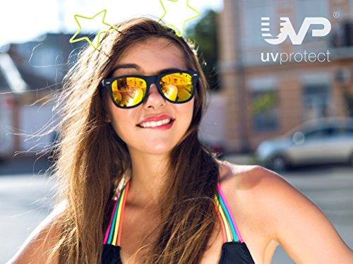 Amazon Gutscheinaktion UVprotect 2 Sonnenbrillen kaufen, 3. Sonnenbrille im Wayfarer Design gratis dazu erhalten