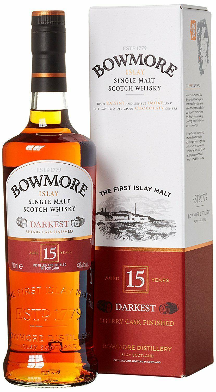 [Amazon] Whisky Bowmore 15 Darkest 39,29 Euro