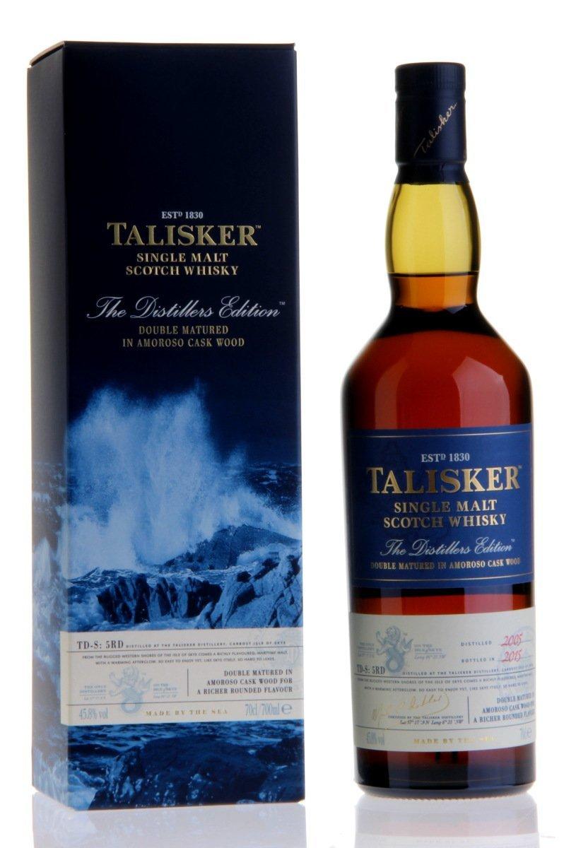 [Amazon] Bis zu 30% auf Whisky u.a. Talisker Distillers Edition für 46,99 €