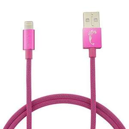 [Apple MFI zertifiziert] Joly Joy 1M Apple Lightning Kabel pink
