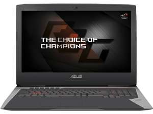 [Media Markt Weiterstadt] ASUS Gaming Notebook 17 Zoll ROG G752VY (i7 Quad, GTX980M, SSD + HDD) + Gaming Bundle von ASUS