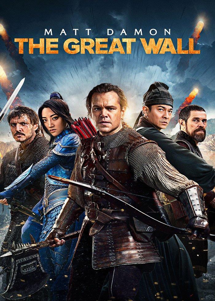 Movie: The Great Wall für 5,99€(SD)/7,99€(HD) statt 12,99€ - KAUF bei Wuaki