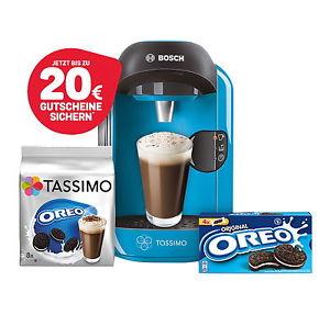 Bosch TASSIMO VIVY + 20 EUR Gutschein* + Oreo TDisc + Kekse