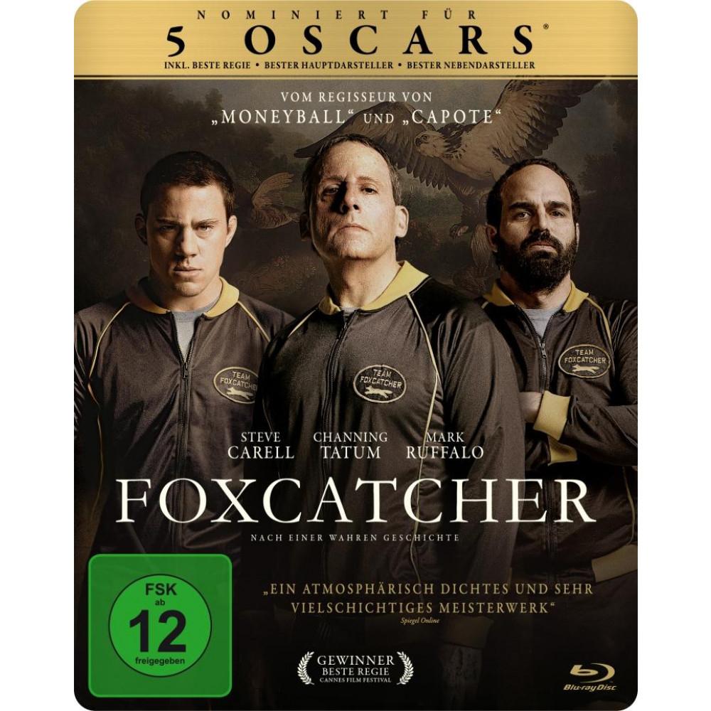 Foxcatcher (exklusives Müller Steelbook) (Blu-ray) für 4,99€ (Müller)