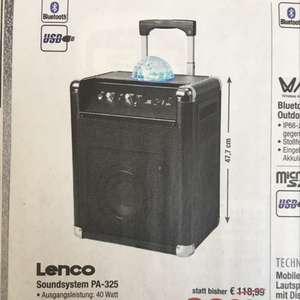LENCO PA-325  -23% IDEALO: 139,-