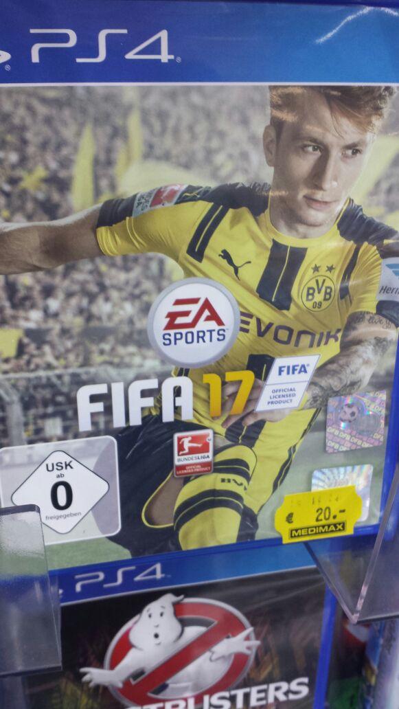 [Lokal Dresden] - FIFA 17 und Battlefield 1 für die PS4 im Medimax Dresden-Neustadt für 20 Euro