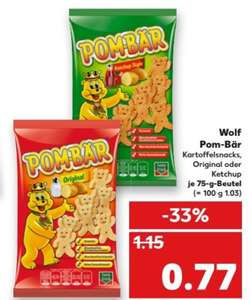 [lokal? Kaufland Kiel] Pombär für 0,77€ vom 22.05-24.05