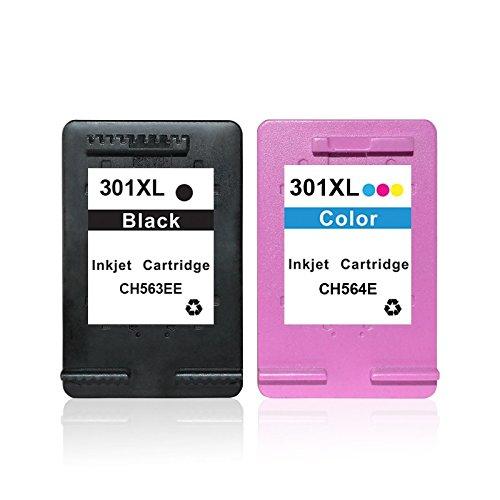 [Amazon] Druckerpatronen kompatibel zu HP 301 BK XL + 301 CL XL für 15,99 € statt 22,99 €