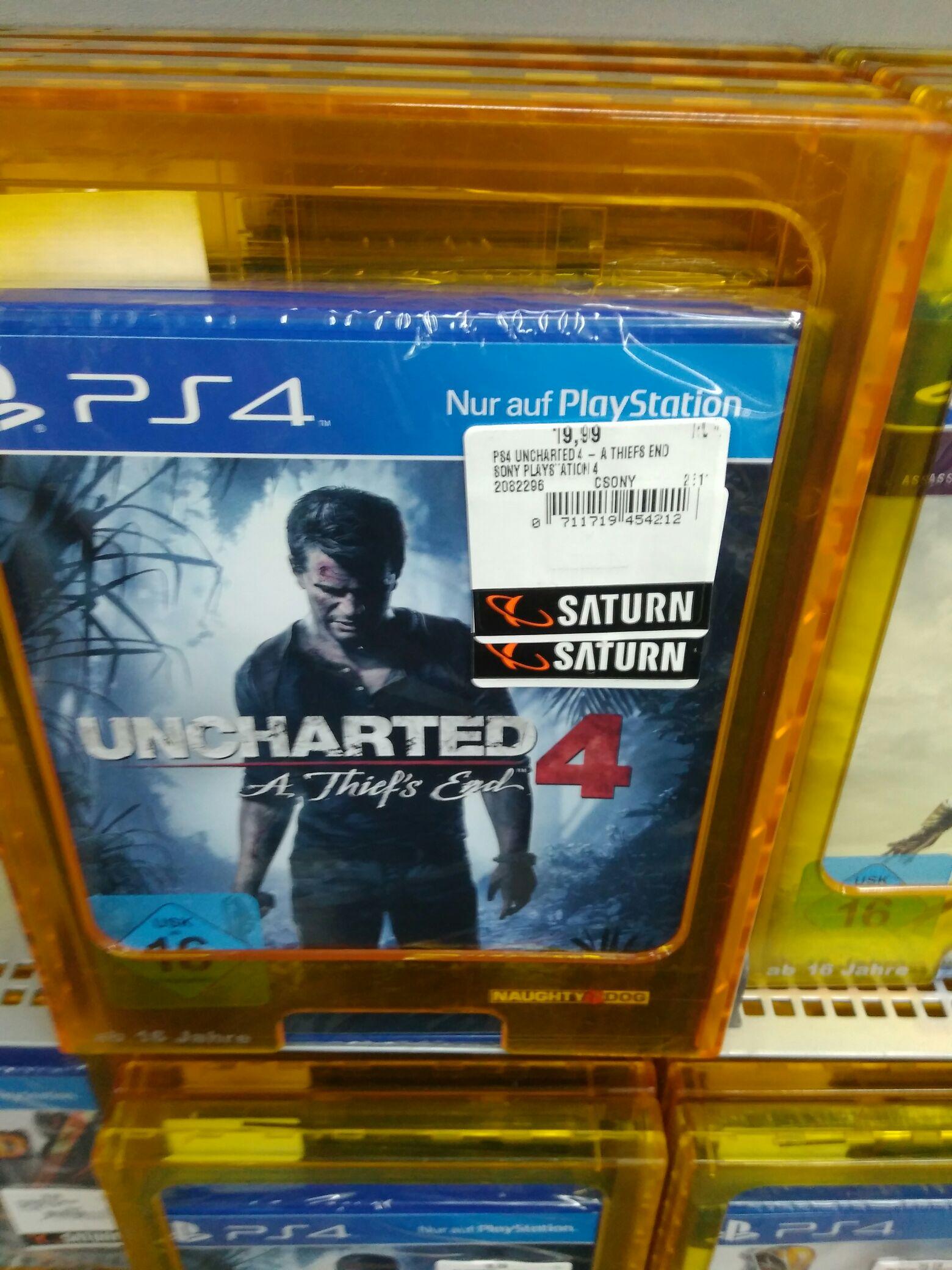 (Lokal Saturn Bremen) Uncharted 4