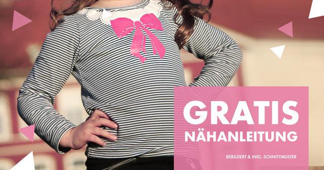 [Makerist] Nähanleitung, Schnittmuster und Plotterdatei für ein Basic-Kindershirt