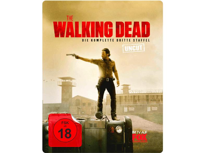 The Walking Dead - Staffel 3 (Limited Steelbook UNCUT Edition) - (Blu-ray) bei Saturn Online