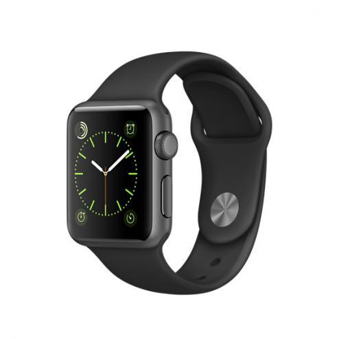Apple Wacht Series 1 Sport grau 38mm refurbish für 193,99€ mit Neukundengutschein bei t-onlineshop.de