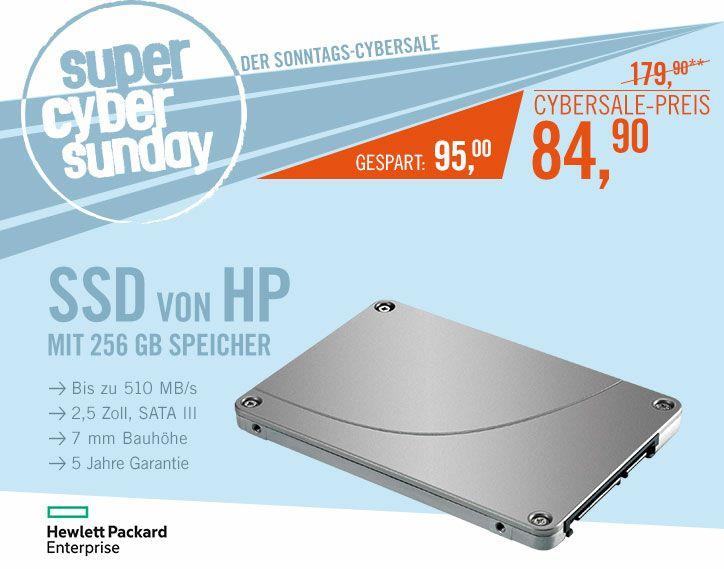 """[Saturn] HP SSD 256 GB, 2,5"""", Sata-III"""