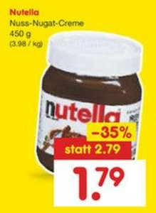 [Netto] 450g Nutella ab Montag 15.05.