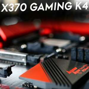 ASrock Fatal1ty X370 GAMING K4 Mainboard mit Chip