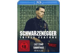 [mediamarkt.de] Arnold Schwarzenegger - Triple Feature UNCUT [Blu-ray] Last Stand/ Sabotage/Maggie 13,99 € Marktabholung kostenlos