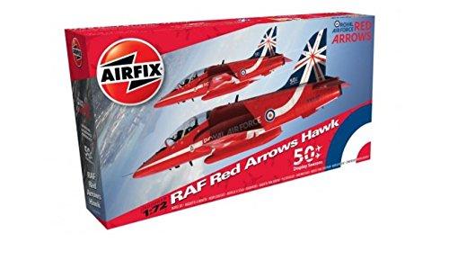 Airfix Arrows Hawk 1: 72 model kit (rot) als Plus Produkt bei Amazon