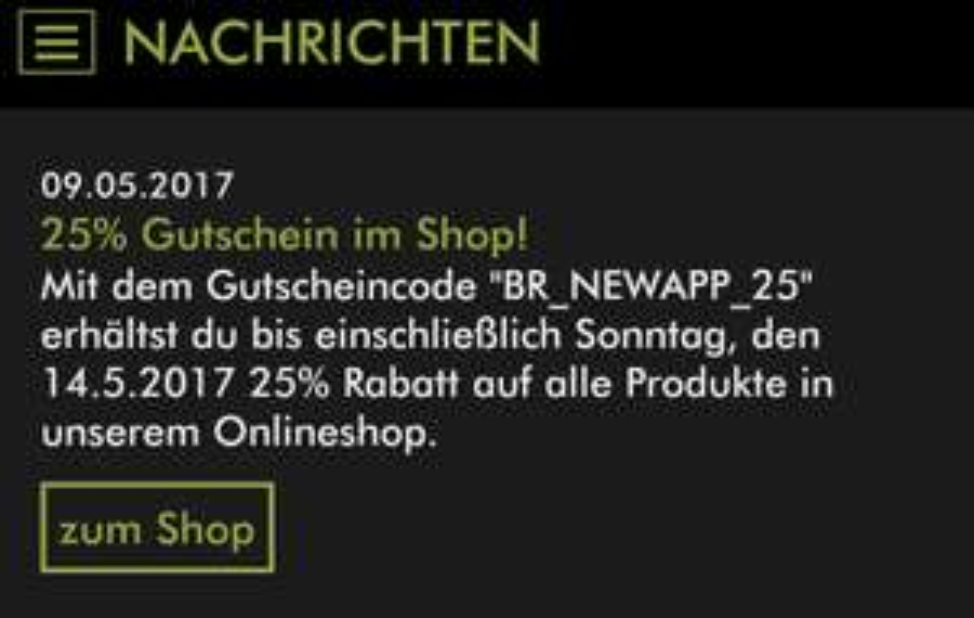 25% im Blackroll Shop