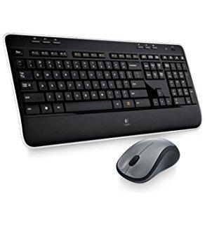 Logitech Funk-Tastatur,- Maus-Set MK520 Wireless Combo Schwarz