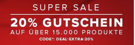 [Vaola] Super Sale 20% Rabatt on Top auf über 15.000 Produkte