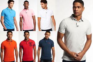 Neues Herren Superdry Polo-Shirts Versch. Modelle & Farben. 19,95€ statt 49,95€ [@superdry-store] [@Ebay]