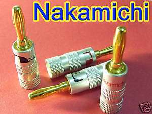 24x Nakamichi Bananen-Stecker [ebay]