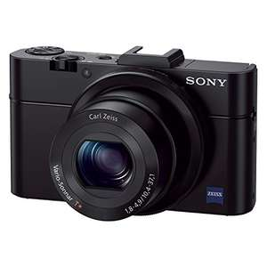 [amazon.it] Sony DSC-RX100 II Cyber-shot Digitalkamera (20 Megapixel, 3,6-fach opt. Zoom, 7,6 cm (3 Zoll) Display, Full HD, bildstabilisiert, NFC, WiFi) schwarz (DSCRX100M2/B)