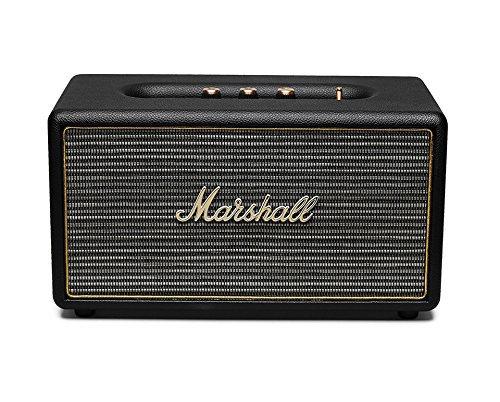 Marshall Acton (schwarz) - Aktiver Stereo-Lautsprecher (Bluetooth V4.0 + EDR, Line-In) für 129,99 € (mit MASTERPASS: 123,49 €) @ NBB