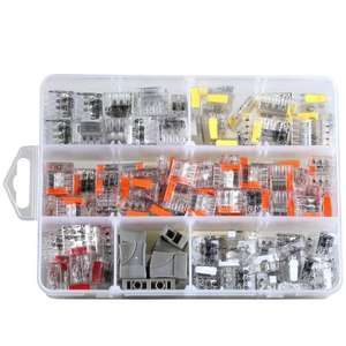 [amazon]   ViD Steckklemmen-Sortiment 200 teilig der 2073 Serie 0,5 - 2,5 mm² VDE und ENEC10 (Blitzangebot bis 10:00 Uhr)
