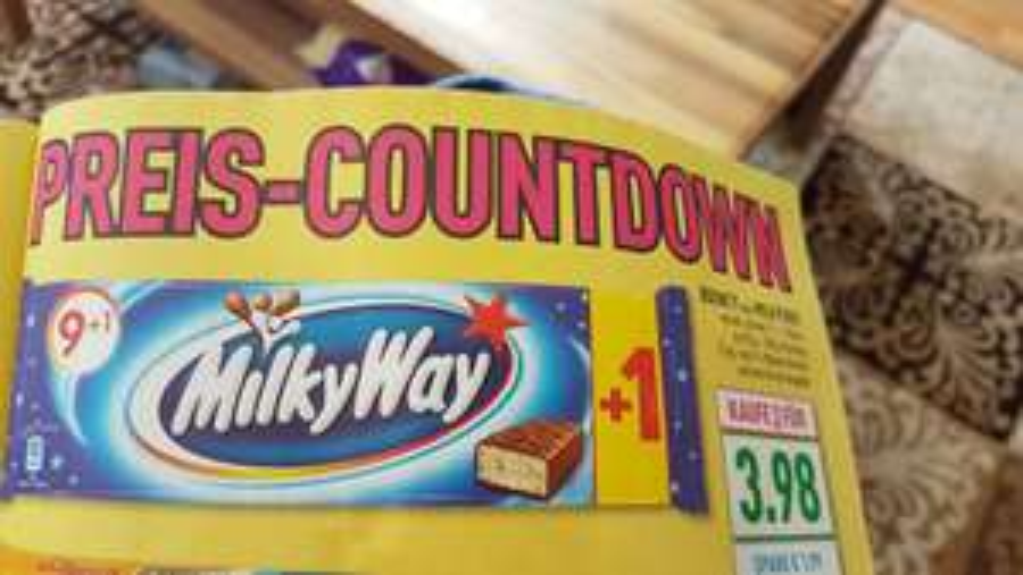 Bounty oder Milky Way 3x Packungen für 3.98€ im Marktkauf Bielefeld