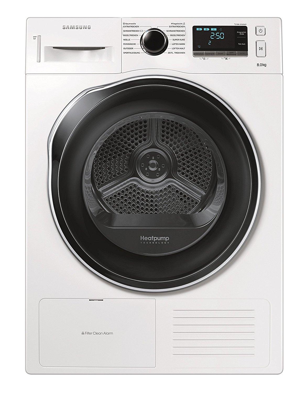 [Amazon] Samsung DV80K6010CW Trockner / A++ / weiß / Blitzschneller Wassertank-Check