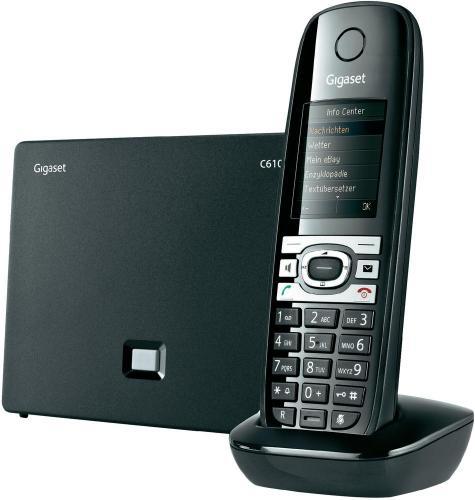 Voip-Telefon Gigaset C610IP | LAN- und TAE-Anschluss