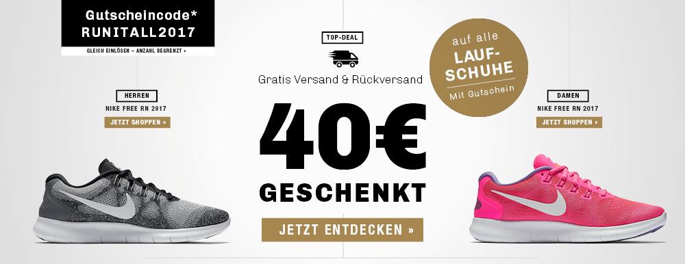 40 € + 7 % Rabatt auf alle Laufschuhe @my-sportswear.de | Nike, adidas, Puma, Asics und mehr