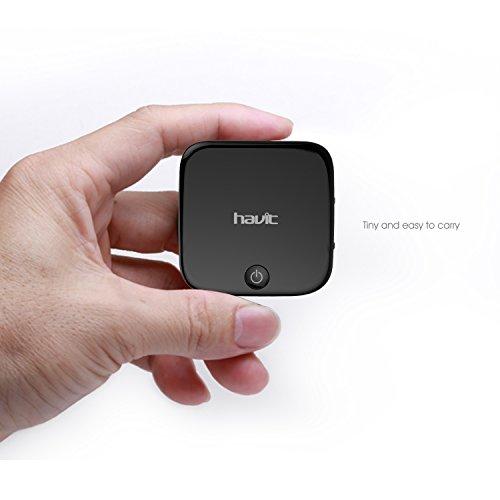 HAVIT Bluetooth Adapter Transmitter und Empfänger für 2 Geräte gleichzeitig - 10,00€ günstiger