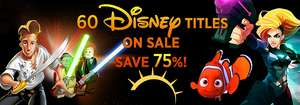 Disney Flash Sale​: z.B LucasArts Adventure Pack (Steam) für 2,06€​, The Secret of Monkey Island: Special Edition (Steam) für 2,06€ uvm. (Gamersgate)