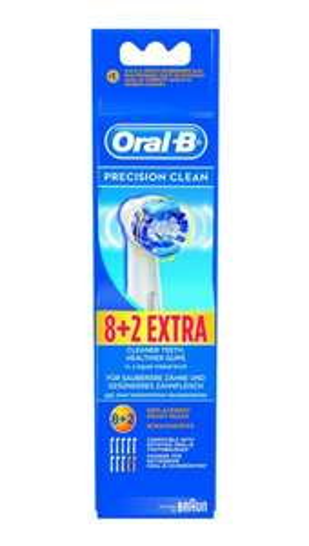 [real] Oral-B Aufsteckbürsten 8+2 für 19,99€ (20Stck für  eff. 34,98€)